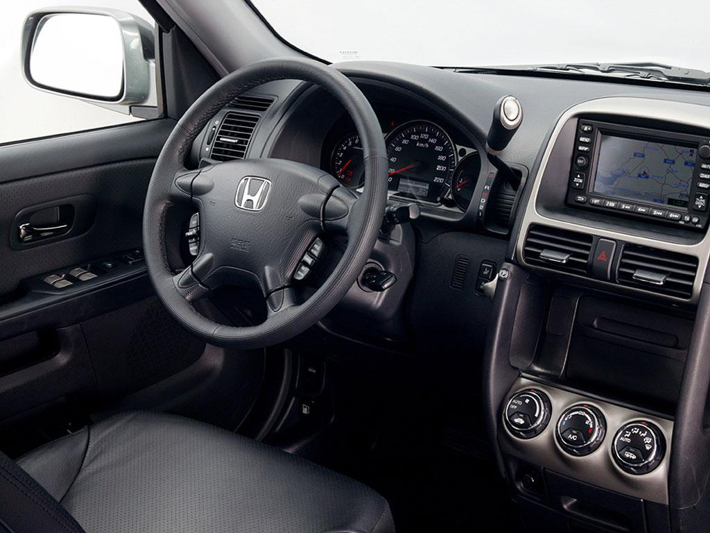 2001 Honda CR-V Interior